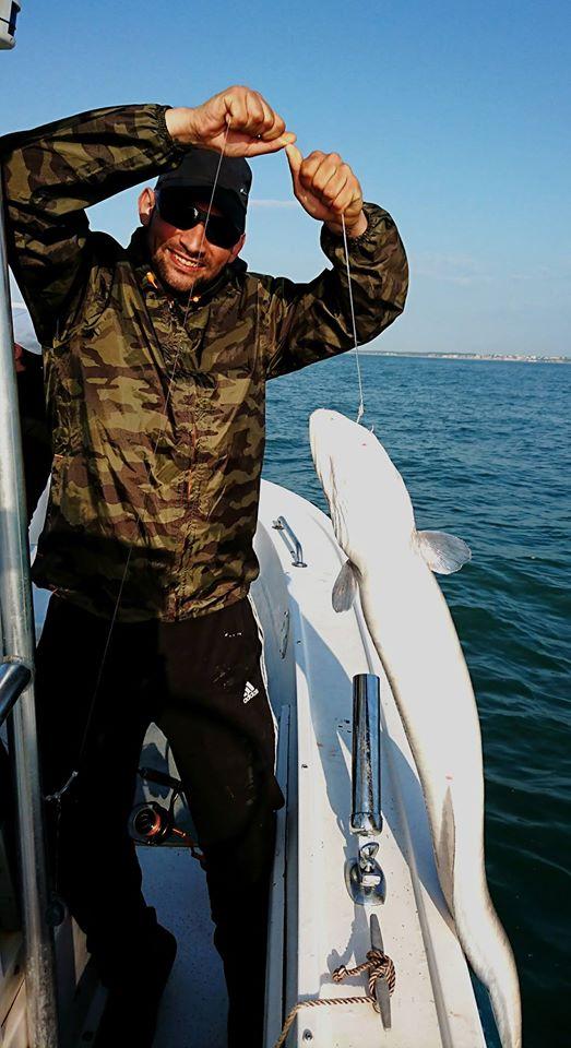 comment pêcher le congre en bateau