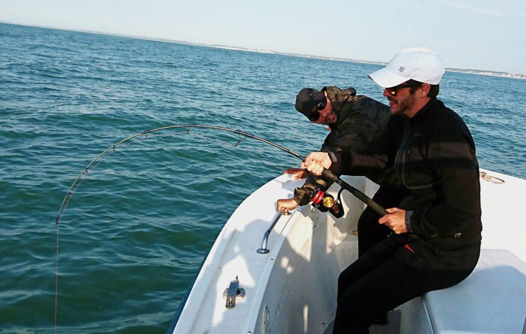 pêche du congre en bateau