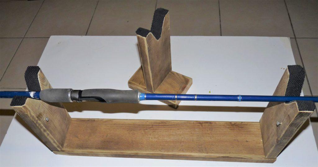 fabriquer facilement un support de montage pour ligature de canne à pêche